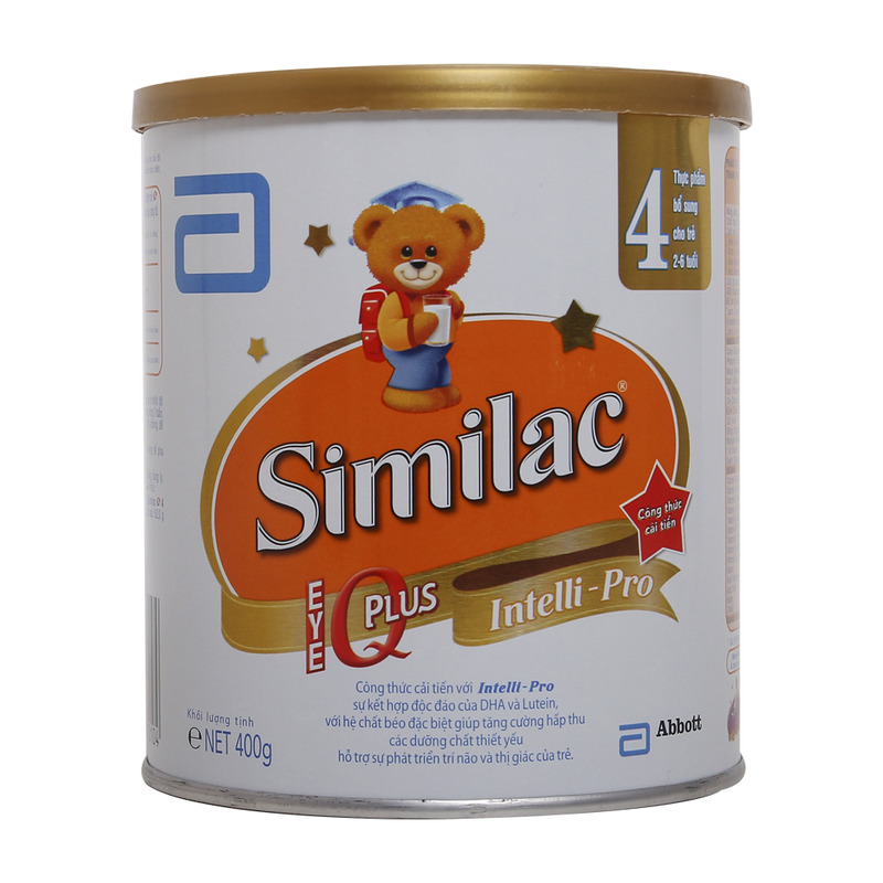 Sữa Similac IQ Intelli – Pro số 4 400g (2 – 6 tuổi)