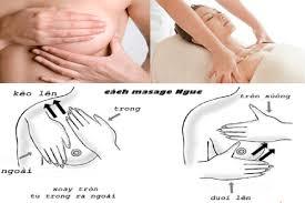 Massage ngực đúng cách giúp các mẹ sau sinh chữa tắc tia sữa hiệu quả